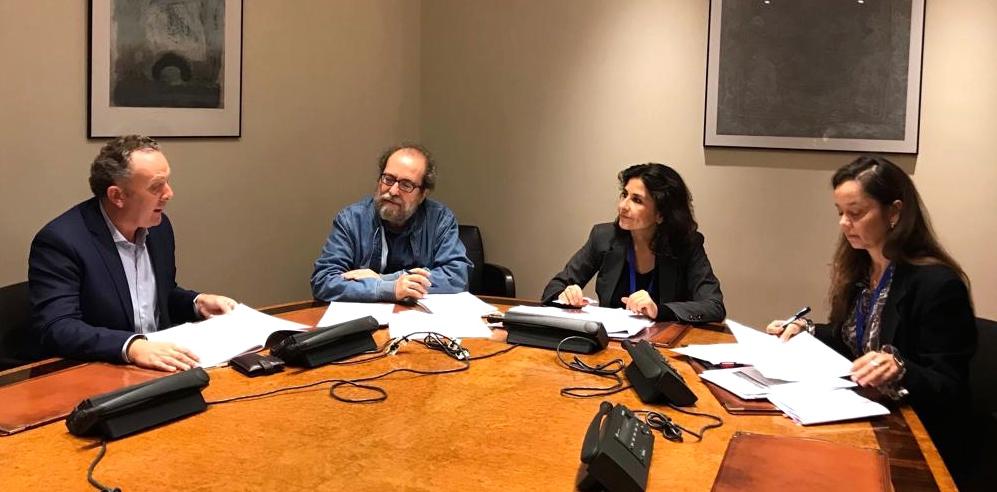 Enric Bataller, de Compromis, reunido con APDDA e INTERcids