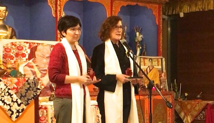 Concha López y Ruth Toledano reciben el premio CyO Respeto a los Animales