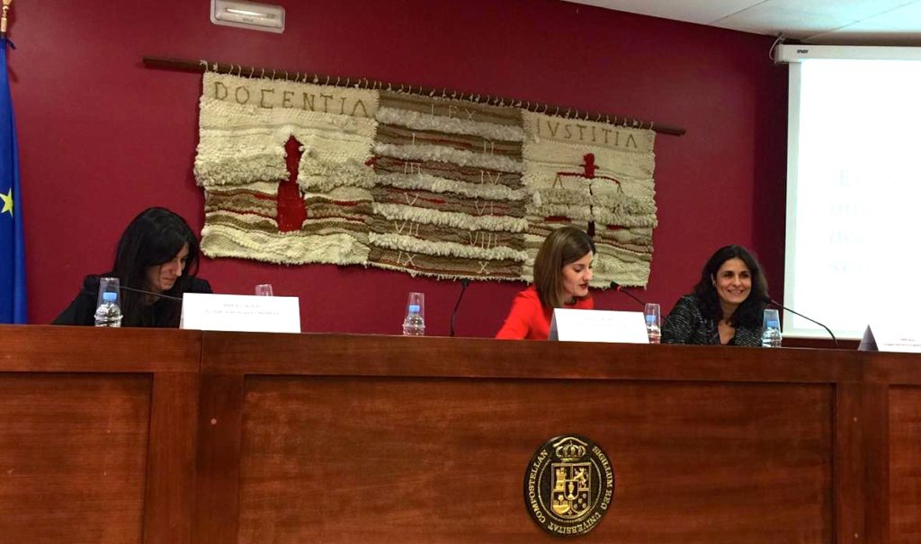 María González Lacabex, Marta Otero y Anna Mulà