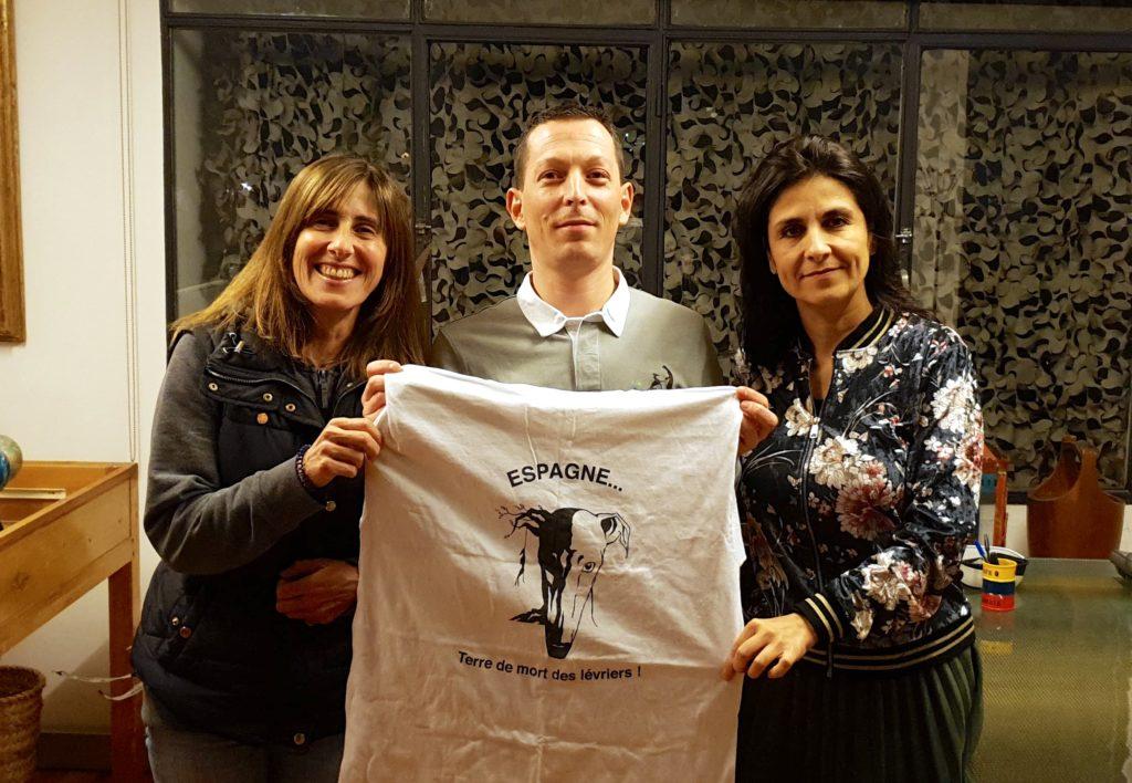 Jerome Guillot durante su visita a Barcelona