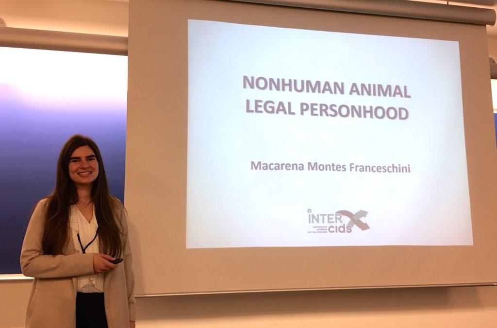 Presentación de Macarena Montes, INTERcids