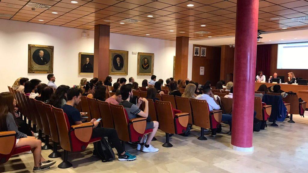 Vista de la sala durante el II Congreso Andaluz de Derecho Animal de Sevilla