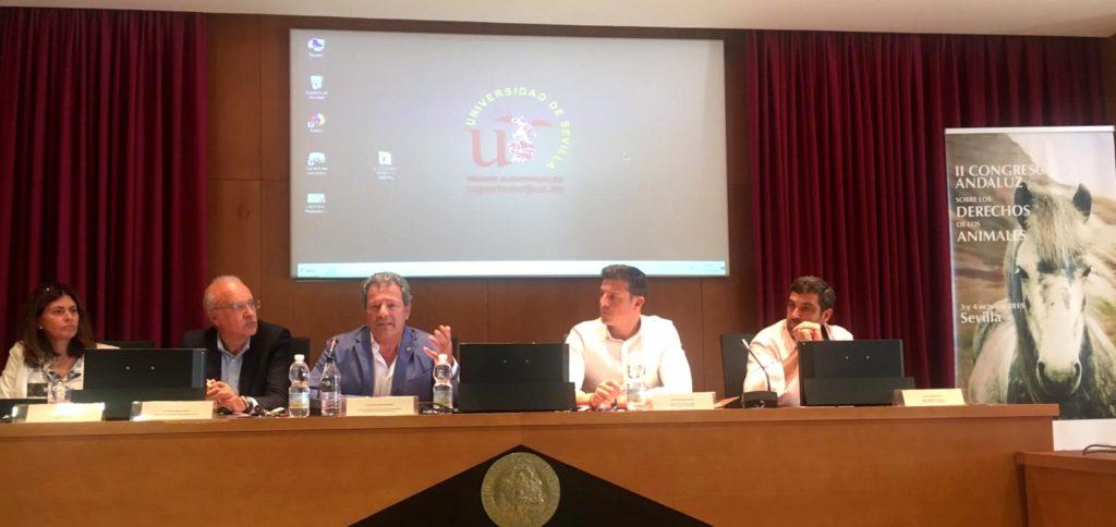 Mesa sobre actuación policial congreso INTERcids Sevilla