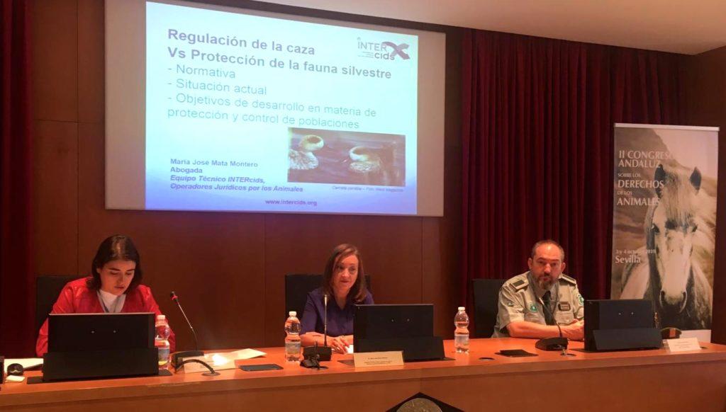 Mesa caza Congreso INTERcids Sevilla